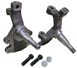 "GM 2"" Drop Spindles for A, F, X, Body Disc Brake Spindles"