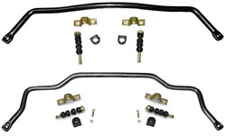 1971-73 Ford Mustang FRONT and REAR Sway Bar Combo Kit