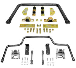 1955-59 Chevy, GMC 3100 Truck Anti Sway Bar Kit, High Performance, Front and Rear