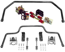 1953-56 Ford F-100 Truck Anti Sway Bar Kit, High Performance, Front and Rear