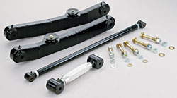 1967-70 Chevy Impala, Full Size Car, Rear Tubular Control Arm Kit, Single Adjustable Upper