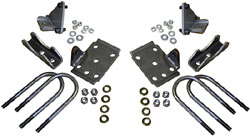 1949-54 Chevy Belair, FleetLine Rear End Conversion Kit with Shock Mounts