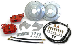 "1958-70 Chevy Impala Disc Brake Conversion Kit, Rear, 12"" Rotors, OE Rearend"
