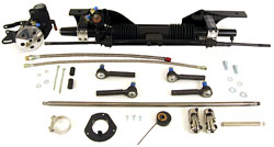 1967-70 Ford Mustang Power Rack and Pinion Steering Conversion Kit, Small Block