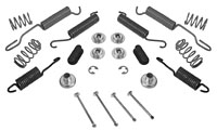 1956-65 CHEVY CORVETTE, FRONT BRAKE SHOE SPRING KIT (DRUM BRAKES)