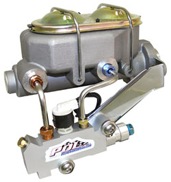 Disc brake Master Cylinder and Proportioning Valve Kit, Aluminum Hybrid Type