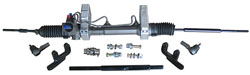 1948-52 Ford F-1 Truck, Power Steering Rack and Pinion Conversion