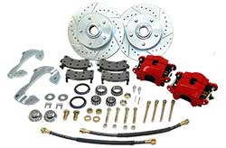 1955-64 Chevy Belair, Impala, Biscayne Front Disc Brake Conversion Kit