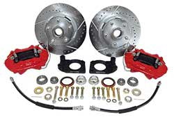 1967-69 Mercury Cougar Front Disc Brake Conversion Kit