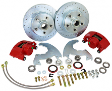 1966-69 Buick Riviera, Wildcat, LeSabre Front Disc Brake Conversion Kit