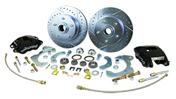 1965-68 Chevy Impala Front Disc Brake Conversion Kit with Wilwood Calipers